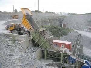 Crushing in Quarry