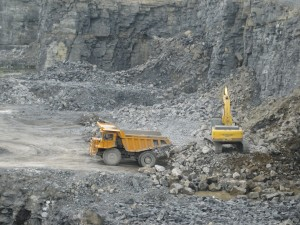 Working Face in Quarry